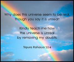 Tripura Rahasya 12.4 #yoga #advaita #vedanta #tantra