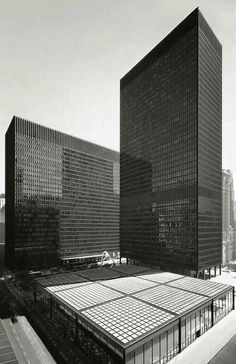 Chicago federal center, Mies van der Rohe, 1959-1974