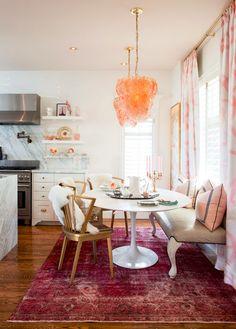 modern traditional breakfast nook - meredith heron design #pinworthy