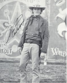 "Clint Eastwood in ""Bronco Billy"" 1980."