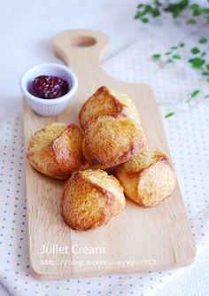 시오코나스콘, 생크림스콘 : 네이버 블로그 Pretzel Bites, Scones, Baked Potato, French Toast, Muffin, Menu, Sweets, Bread, Cheese