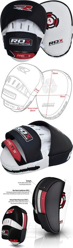 Strike Pads and Mitts 179789: Rdx Focus Pads Hook And Jab Mitts Kick Boxing Mma Strike Punch Bag Kick Curved W U -> BUY IT NOW ONLY: $31.49 on eBay!