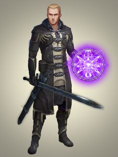 m Fighter Elrich Knight sword casting d&d Pathfinder RPG - Community