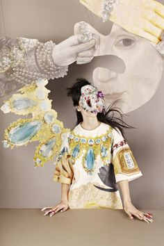 Campaign SS14   Masha Reva by Madame Peripetie, via Behance