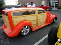 Custom 1939 Ford Woody Wagon, inspired by a sketch by Chip Foose.