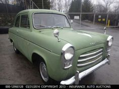 1958    FORD    ANGLIA Ford Anglia, Cool Old Cars, Ford Motor Company, Antique Cars, Classic Cars, Weird, Vans, Trucks, Vehicles