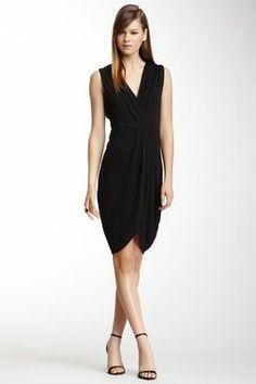 Belle Crepe Mix Silk Blend Dress