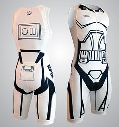 Clone trooper tri suit