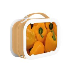 Pack your lunch with plenty of snacks into a lunch box from Zazzle. Choose from plastic or metal lunch boxes to keep your food fresh and safe! Metal Lunch Box, Stuffed Peppers, Snacks, Fresh, Yellow, Food, Tapas Food, Appetizers, Meal