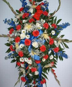 Standing Patriotic Tribute