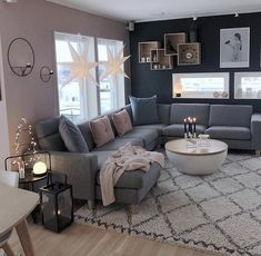 Cozy Living Room For Your Home - Living Room Design Home Living Room, Farm House Living Room, Living Room Color Schemes, Living Room Decor Apartment, Apartment Living Room, Trendy Living Rooms, Living Room Grey, Living Room Goals, Living Decor
