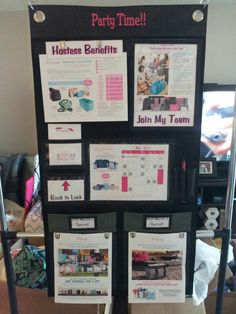 My new booking board!! So excited to use it!!!
