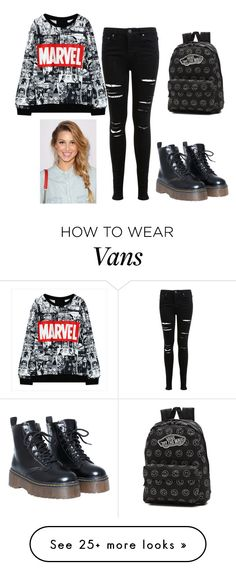 """""""A"""" by zephyraa on Polyvore featuring Miss Selfridge and Vans"""