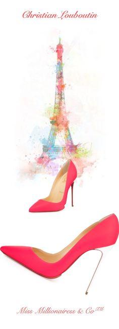 Christian Louboutin So Kate Pump | @ christian louboutin I love the color