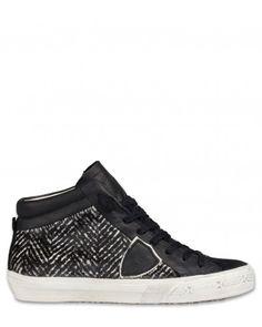 Philippe Model Middle Alta D Damen Schuhe schwarz
