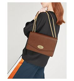 MULBERRY - Darley large grained leather cross-body bag | Selfridges.com