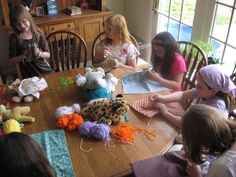 Stuffed animal Birthday party- make blankets and name tags for your stuffie