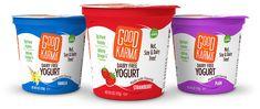 Simple Banana Peanut Butter Smoothie - Good Karma Foods