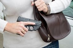 This Smith & Wesson Shield, while compact, is still big enough for a full and proper grip.