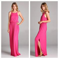 Solid jersey long maxi | Shop this product here: http://spreesy.com/TheTrunk/306 | Shop all of our products at http://spreesy.com/TheTrunk    | Pinterest selling powered by Spreesy.com