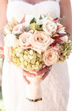 #Bouquet | See the Wedding on #SMP Weddings: http://www.stylemepretty.com/california-weddings/santa-barbara/2013/12/10/bacara-resort-spa-wedding/  MoHa Photography