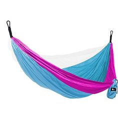 """Bear Butt #1 Double Parachute Camping Hammock *START UP COMPANY """"Shaking The Eagle Out Of The Nest Since 2015""""  DOUBLE PERSON BACKPACKING HAMMOCKS WILL FIT AND HOLD A LARGE GRIZZLY BEAR.. Fits a small baby up to Shaquille O'neal(if you don't know who that is, don't buy our outdoor hammocks) 10' x 6' legally bound to say it holds up to 500 pounds but we have tested for over 900 pounds and it fits 2 people comfortably(not just business class comfortable but first class comfortable)  SUPER…"""
