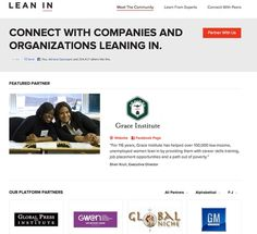 """Pleased to announce GlobalNiche is now a #platform partner with #LeanIn . """"GlobalNiche.net leans in by providing women with an effective framework to achieve offline goals with their online presence. We equip women to build broader networks, connect to opportunities and be the agent of their own development. GlobalNiche envisions a world where women are happy and fearless as they create the life they want to live."""""""