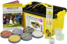 Snazaroo Face and Body Paint Mini Starter Kit, 14 pieces: Amazon.co.uk: Toys & Games