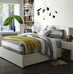 west elm storage bed frame - Storage solutions on #redsoledmomma.com