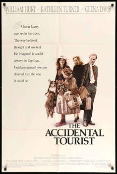 Accidental Tourist (1988) Original One-Sheet Movie Poster - Original Film Art - Vintage Movie Posters