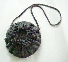 PDF PATTERN Cross Body Bag Crochet Bag Flower by PATTERNSbyFAIMA, $5.50