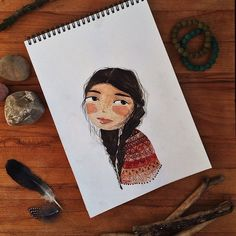 Discover easy and unique ideas for home, decor, beauty, food, kids etc. Try the best inspiration from a list of ideas which suits your requirement. Art And Illustration, Watercolor Illustration, Illustrations Posters, Watercolor Art, Art Sketches, Art Drawings, Human Sketch, Sketch Tattoo Design, Pretty Art