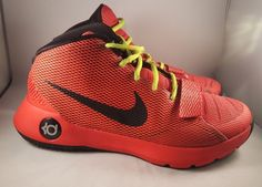 5ac6023ad2f7 Nike KD Trey 5 III 3 Size 8 Men s Basketball Red Black 749377 606 - Durant