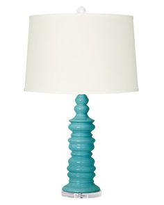 Bungalow 5 Aurora Turquoise Table Lamp
