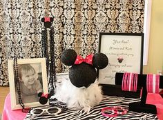 So many Minnie Mouse party ideas!