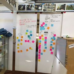 I like the barn door sliders up top for the workshop room at back of office. More white board space that can be compartmentalized. Stanford d.school Design Thinking Workshop — Sarah Gardner