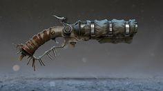 sawed off shotgun https://www.artstation.com/p/Q0d9Z Ivan Taranenko Freelancer, CG generalist, Art Director -- Share via Artstation Android App, Artstation © 2017