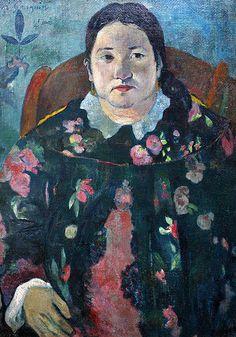 Gauguin, Portrait de Suzanne Bambridge