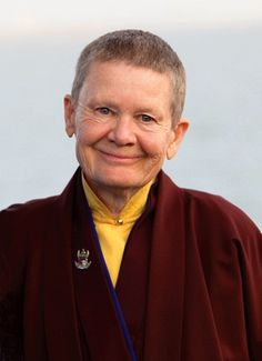 Pema Chodron at the Smile at Fear Retreat at the Craneway Pavilion, Richmond, California 10/16/2010