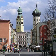 Rosenheim, Germany  Google Image Result for http://upload.wikimedia.org/wikipedia/commons/thumb/4/4a/Rosenheim_heilig_geist.jpg/220px-Rosenheim_heilig_geist.jpg