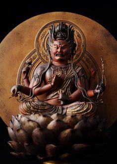 Japanese Buddhism, Theravada Buddhism, Religion, Japanese Mythology, Buddhist Art, Japan Art, Illustrations And Posters, Gods And Goddesses, Religious Art