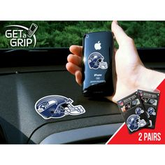 Seattle Seahawks NFL Get a Grip Cell Phone Grip Accessory (2 Piece Set)