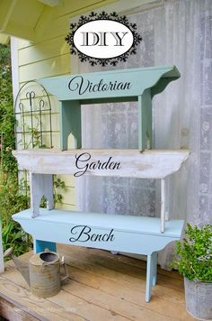 How to Build a Victorian Garden Bench