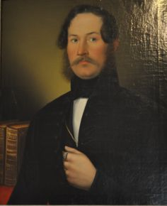 Alajos Alois Unger (1841, attributed): Ferenc Hergeszell (1806-59), oil on canvas, Flóris Rómer Museum of Art and History, Györ