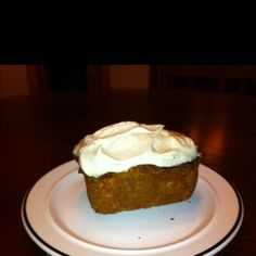 Carrot cake with cashew cream icing