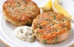 Cambridge diet recipe for healthy Salmon Fishcakes http://www.perfectportions.com/
