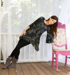 Gypsy Dream TUNIC Dress Exclusive  by designedbyginalouise on Etsy, $74.99
