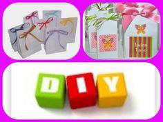 Diy: Sacolinha de papel para presentes ou lembrancinhas - Fácil, rápido & barato http://youtu.be/LQJFwltroXs