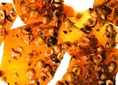 salty hazelnut brittle... maybe I'll try for christmas?