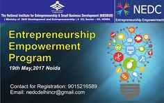 NEDC: One day workshop on Entrepreneurship Empowerment p...